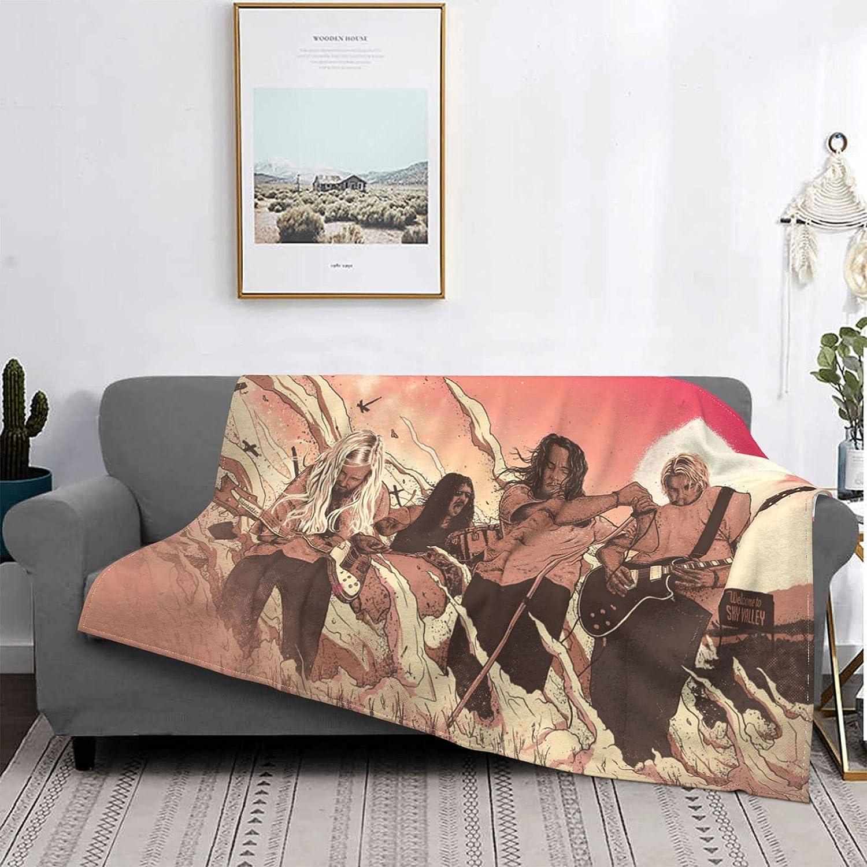 Kyuss Fleece Blanket Lightweight Super Cozy for Sof Soft Finally popular Popular popular brand