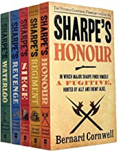 Bernard Cornwell The Sharpe Series 16 to 20: 5 Books Collection Set (Honour, Regiment, Siege, Revenge, Waterloo)