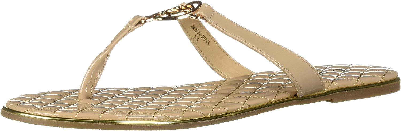 Bebe Womens Parris Flat Sandal