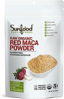 Sunfood, Red Maca Powder, Nutrient-Rich, 1 lb (454 g)