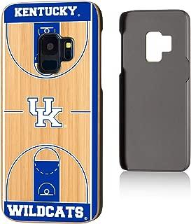 Keyscaper NCAA Kentucky Wildcats Samsung Galaxy Bamboo Case, Wood, Galaxy S9