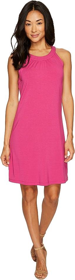 Tambour Sleeveless Short Dress