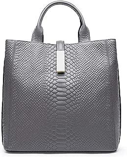Leather handbags crocodile top suede leather women's big bag shoulder bag messenger handbag