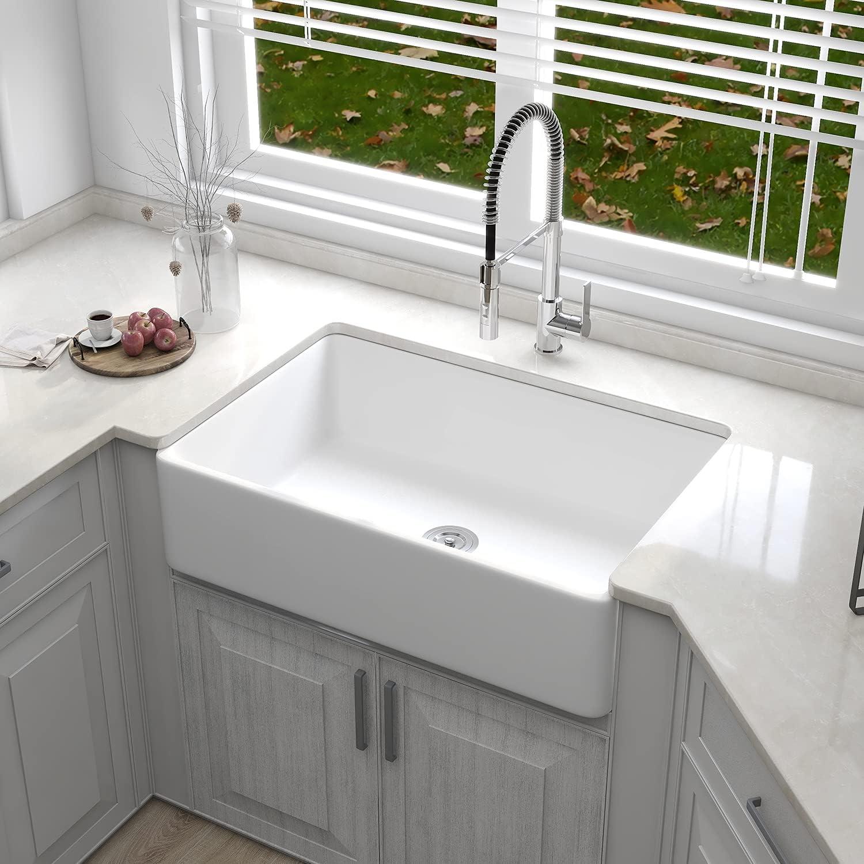 Buy DeerValley DV 9K999 Farmhouse Kitchen Sink Apron Front ...