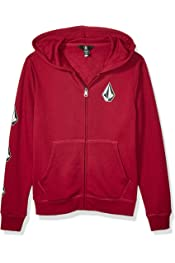 Volcom Boys Big Taghum Relaxed Fit Snow Hooded Fleece Sweatshirt
