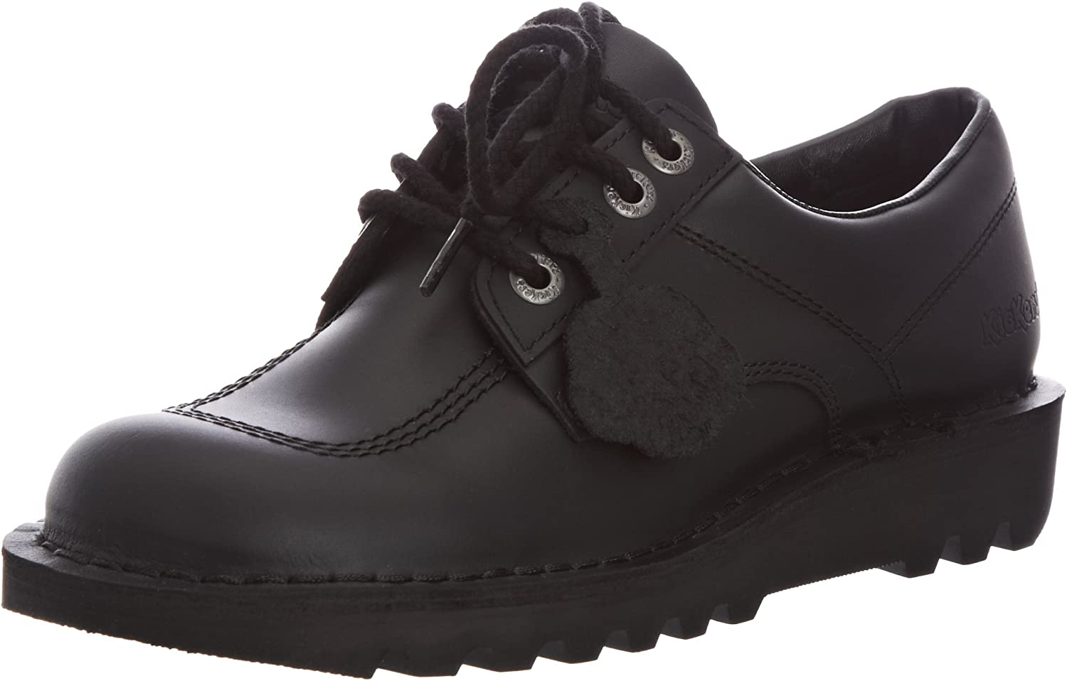 Kickers Kick Lo M Core Mens Black Leather shoes, UK11