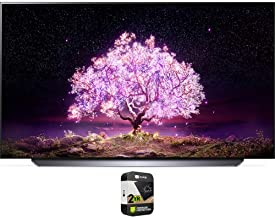 LG OLED55C1PUB 55 Inch 4K Smart OLED TV with AI ThinQ 2021 Model Bundle with Premium 2 Year Extended Protection Plan