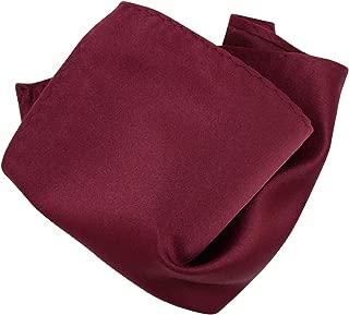 Solid Color Hankerchief Pocket Square Hanky Men's Handkerchiefs