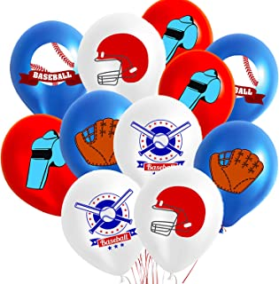 50PCS Baseball Party Decorations Balloons- Birthday/Sports Game/Boy Birthday/ Baby Shower Party Supplies Balloon