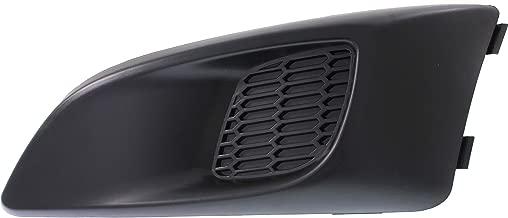 Garage-Pro Fog Light Cover for CHEVROLET SONIC 2012-2016 LH Black LS/LT/LTZ Model Hatchback/Sedan