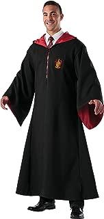 Rubie's Costume Co Men's Hallows Deluxe Replica Gryffindor Robe