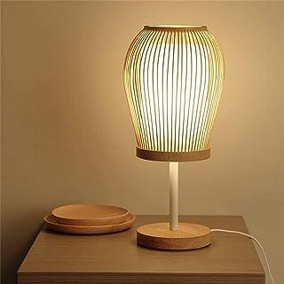 Lampes de Bureau Simple Bambou Art Style Japonais Chambre Lampe Lampe de Chevet Salon étude Salle décoration Lampe de Table
