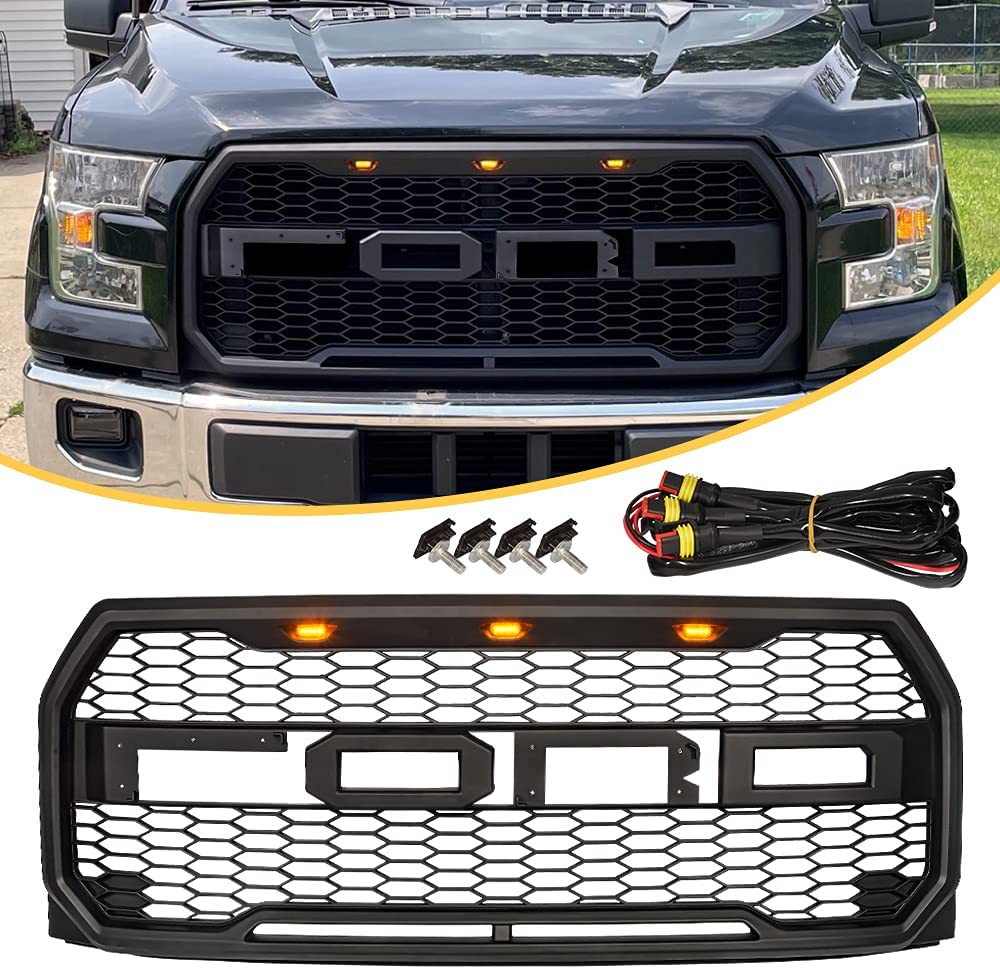 Fit For 2015 2016 2017 F150 Gril Manufacturer Ranking TOP17 OFFicial shop Grill Raptor Replacement Style