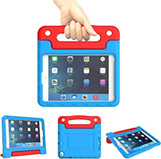 Kids Case for iPad Mini 1 2 3 4 5 Generation - Lightweight Shockproof Convertible Protection Cover with Built-in Handle St...