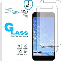 KATIN LG K30 Screen Protector - [2-Pack] Tempered Glass for LG K30 / LG K10 2018 Easy to Install with Lifetime Replacement Warranty
