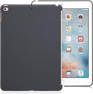 KHOMO Funda iPad 9.7 2018 y 2017 Carcasa Trasera Ultra Delgada y Resistente Compatible con Smart Cover para Nuevo Apple iP...