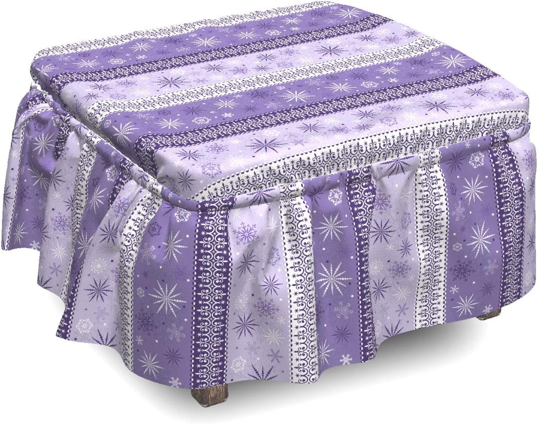 Ambesonne Ethnic Ottoman Max 87% New life OFF Cover Christmas 2 Noel Snowflake Piec