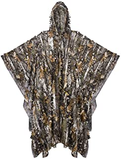 Tongcamo Hunting Ghillie Suit 3D Bionic Leafy Camouflage Clothing for Jungle Hunting, Wildlife Photography, Bird Watching,...
