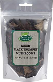 Dried Black Trumpet Mushrooms 3 Ounce by Hatton Hill