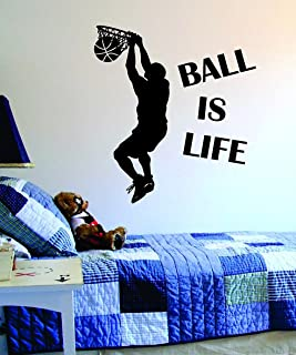 basketball court vinyl stickers