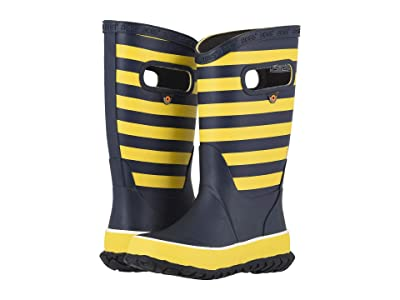 Bogs Kids Rain Boots Rugby (Toddler/Little Kid/Big Kid) (Yellow Multi) Boys Shoes
