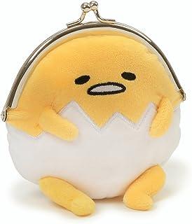 "Gund Sanrio Gudetama The Lazy Egg Coin Purse Plush, 5"" , Multicolor"