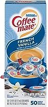 Nestle Coffee mate Coffee Creamer, French Vanilla, Liquid Creamer Singles, Box of 50 Singles