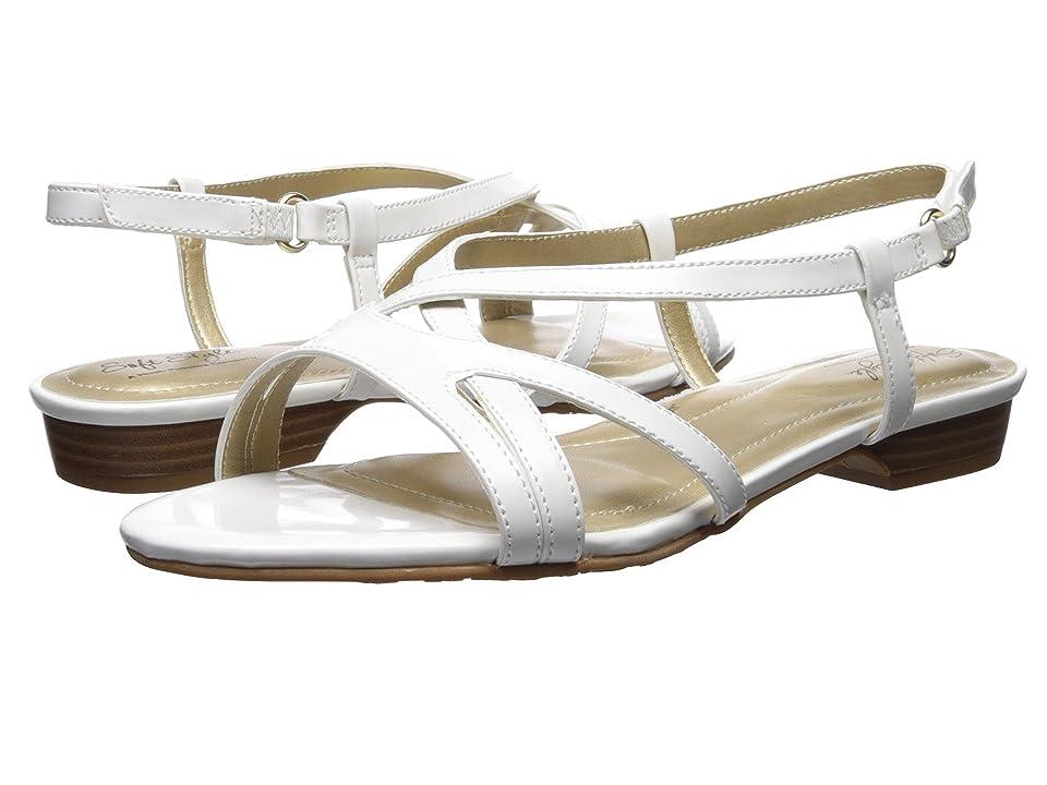 Soft Style Maisy (White Patent) Women