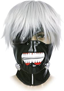 CoolChange Máscara y Peluca Tokyo Ghoul de Ken Kaneki