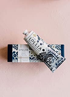 Lollia Handcreme | Fragrant, Moisturizing Coveted Hand Lotion | Lightweight and Quick Absorbing | Finest Ingredients Including Shea Butter