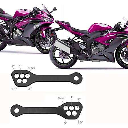 GZYF Motorcycle 5 hole Adjustable Rear Lowering Link Links Kit Lever for Suzuki Hayabusa GSXR1300 2008-2016