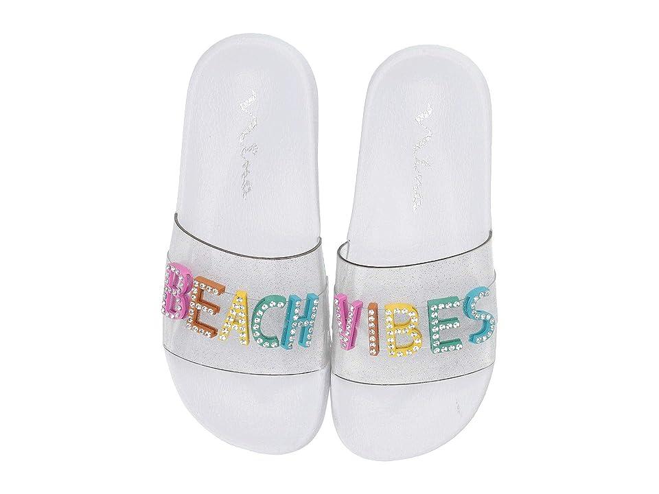 Nina Kids Dominga (Little Kid/Big Kid) (Clear) Girls Shoes