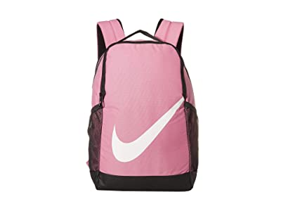 Nike Kids Brasilia Backpack (Little Kids/Big Kids) (Magic Flamingo/Black/White) Backpack Bags