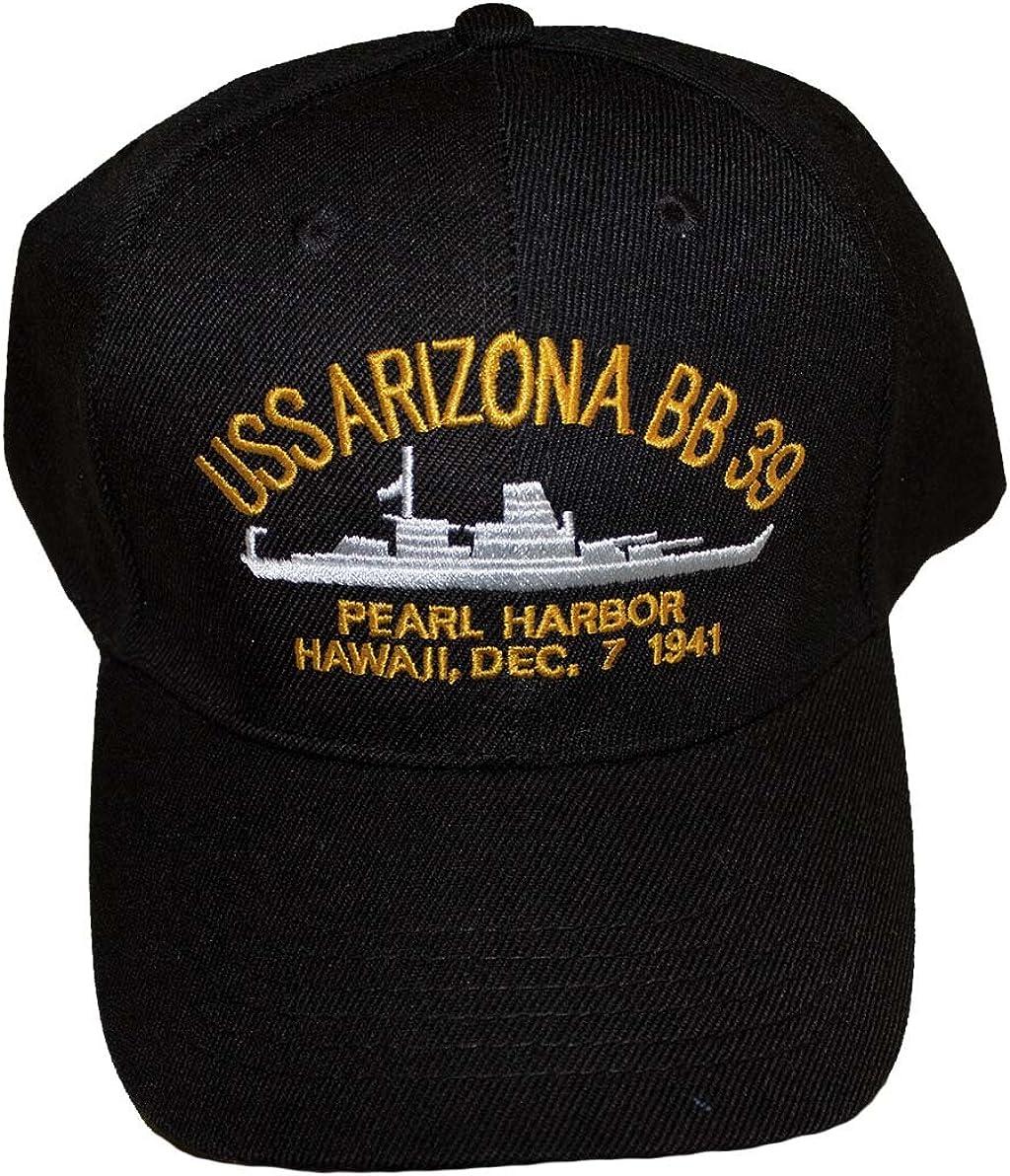 Embroidered USS Arizona Battle Ship Dec. Max 76% OFF 7 OFFer Harbor Hawaii Pearl