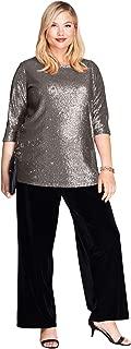 Women's Plus Size Sequin Tunic