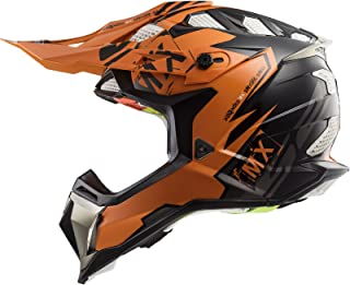 LS2 Motocross-Helm MX 470 Subverter Schwarz Gr. S