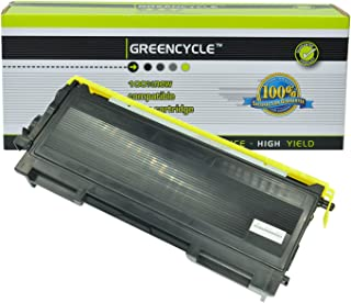 GREENCYCLE 1 Pack TN350 TN-350 Black Toner Cartridge Compatible for Brother MFC-7420 MFC-7820n DCP-7020 Printers