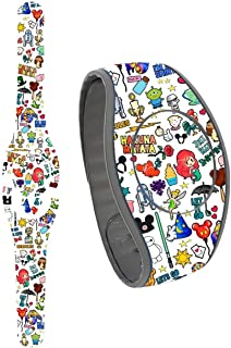 Doodles Decal for the Disney Magic Band 2 | MagicBand 2.0 Skin