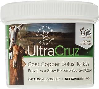 UltraCruz - sc-363567 Goat Copper Bolus Supplement for Kids, 25 Count x 2 Grams