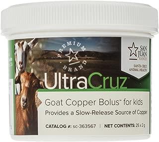 UltraCruz Goat Copper Bolus Supplement for Kids, 25 Count x 2 Grams