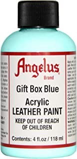 Angelus Leather Paint 4 Oz Gift Blue