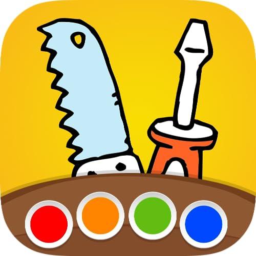 Livre de coloriage - Bricolage