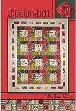 Crimson Glory Quilt Pattern by Villa Rosa Designs