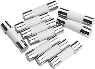 BLUECELL pack of 10 pcs F10AL Fast-Blow Fuse 10A 250V Ceramic Fuses 5 x 20 mm (10amp)