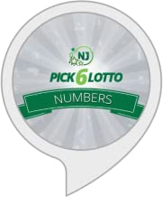 New Jersey Pick 6 Lotto Numbers