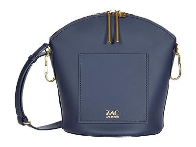 ZAC Zac Posen Belay Zip Top Shoulder Solid