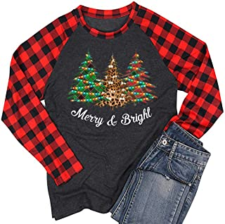 Best womens long sleeve christmas t shirts Reviews