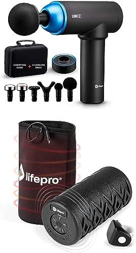 wholesale LifePro Sonic E Portable Percussion Massage Gun lowest and Surger Pro Heated Vibrating outlet sale Foam Roller online sale