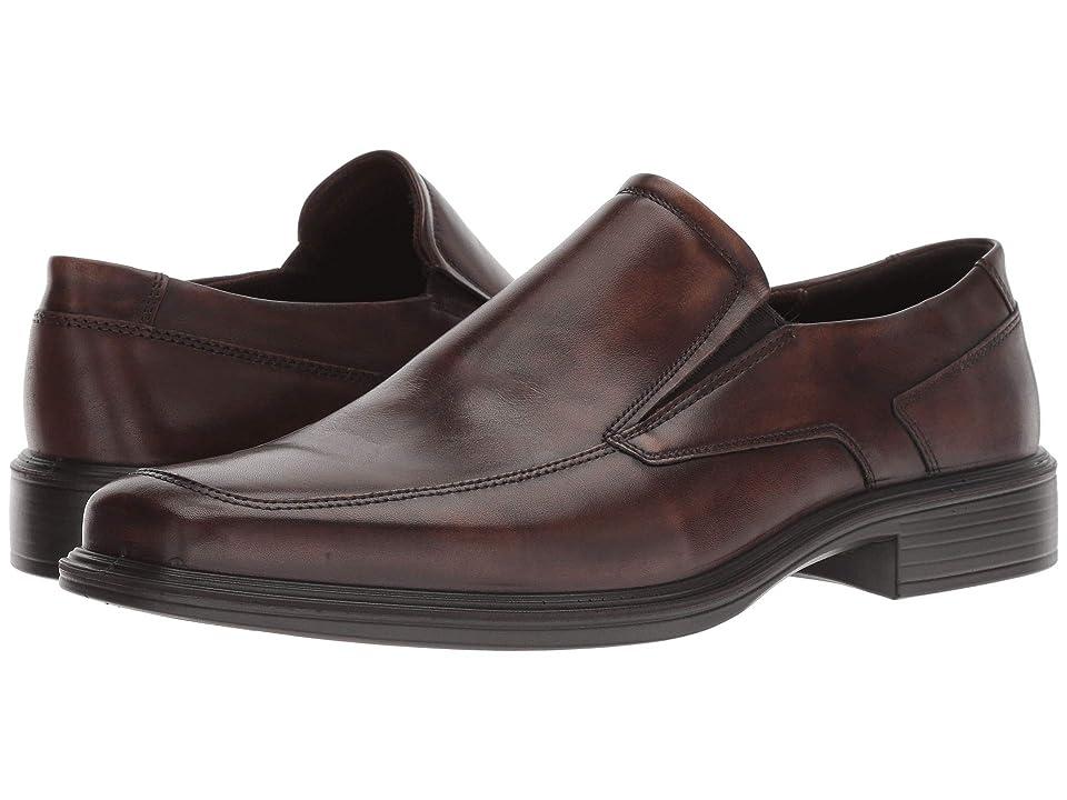 ECCO Minneapolis Slip-On (Cocoa Brown Full Grain Leather) Men