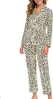 Women's Pajamas Set 2 Piece Classic Sleepwear Soft Cotton PJ XS-XL